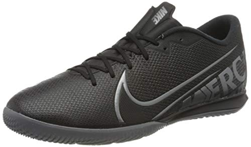 Nike Mens Vapor 13 Academy Ic Indoor Football Trainers, Mehrfarbig Black MTLC Cool Grey Cool Grey 1, 44 EU