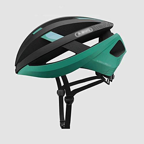 FZKJJXJL Casco De Bicicleta Casco De Bicicleta De Montaña Hombres Y Mujeres Casco De Bicicleta De Carretera Moldeo Integrado Equipamiento para Montar,M-Green