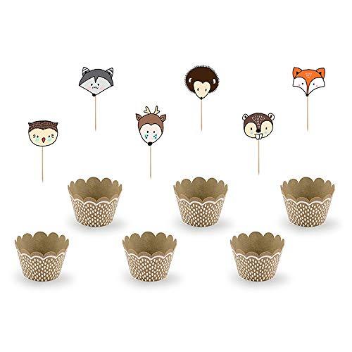 Cupcake-Deko-Set