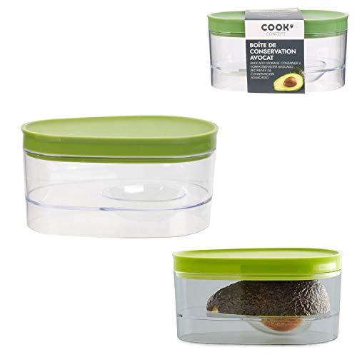 Les Colis Noirs LCN - Boite de Conservation pour Avocat - Accessoire Cuisine - 736