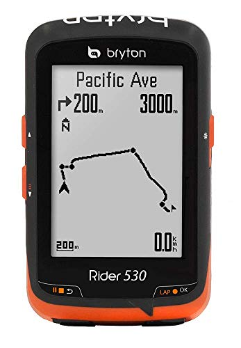 Bryton Rider 530C Velocímetro Computador GPS, Unisex Adulto, Negro, Talla Única