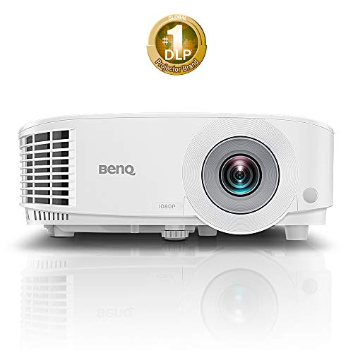 "Benq MH550 Video - Proyector (3500 Lúmenes ANSI, DLP, 1080P (1920 x 1080), 20000:1, 16:9, 762-7620 mm (30-300"")), Blanco"