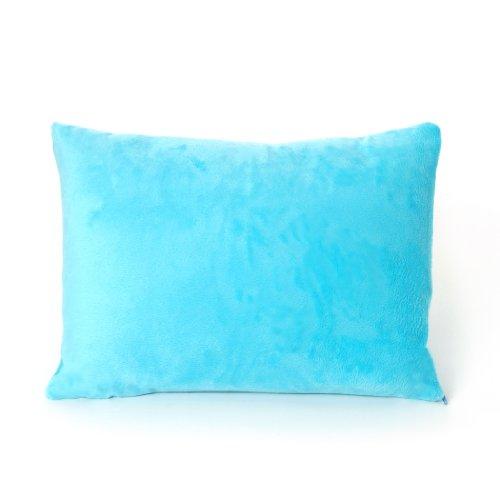 My First Premium Memory Foam Kids Toddler Pillow with Pillowcase, Blue, 12u0022 x 16u0022