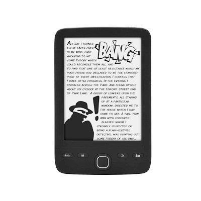 i-Joy LIB-SHESIR - Lector de e-books de 6