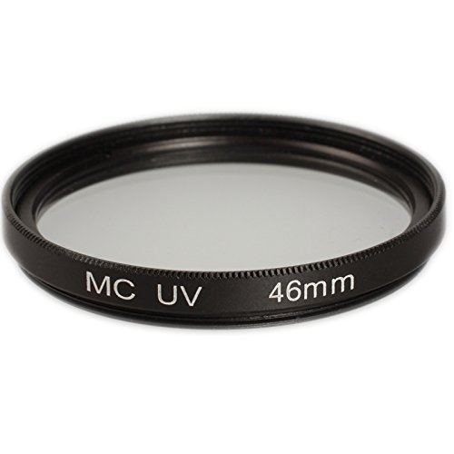 Ares Foto® Filtre UV 46mm (multicoated) pour Panasonic H-H025 LUMIX G 25 mm / F1.7 ASPH.