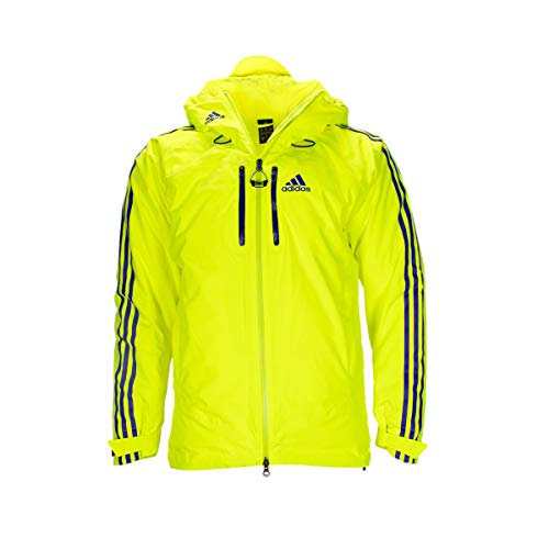 adidas Coach Jacke Neongelb/violett 44 / XS-S