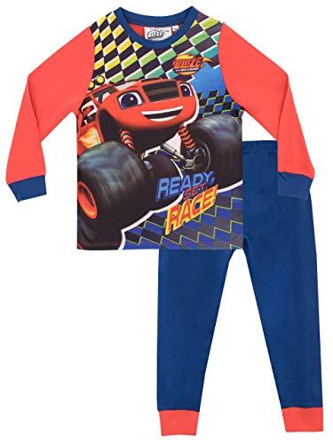 Blaze and the Monster Machines Schlafanzug mit LKW-Logo für Jungen