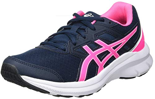 Asics Jolt 3, Road Running Shoe Mujer, French Blue/Hot Pink, 39 EU