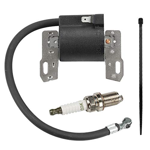 Yermax 590454 Armature Magneto Coil with Spark Plug for Briggs and Stratton 802574 799381 790817 692605