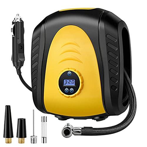 Inflador De Neumáticos Digital, Compresor De Aire Para Coche, Inflador De Neumáticos, Bomba Automática Portátil De 12V CC Para Bicicleta