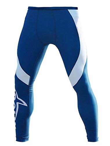 Panegy Men's Fashion Long Diving Skin Pants Beach Board Leggings Rash Guard Tights - M