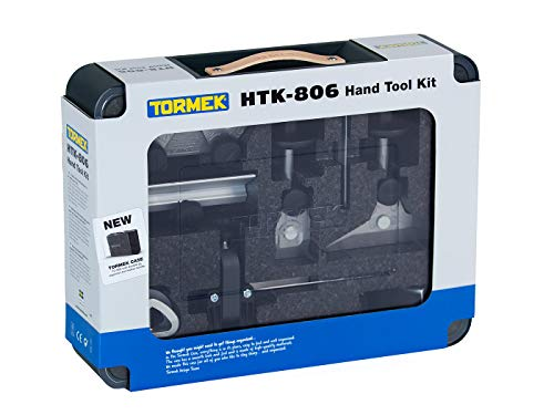 Tormek HTK-806 - Kit de afilado para sistemas de afilado Tormek - Afilador de cuchillos, tijeras y afilador de hacha - afila todos tus cuchillos, hachas, herramientas de corte y más.