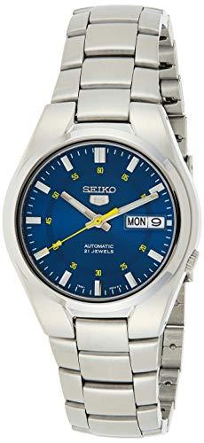 Seiko Reloj Analógico Automático para Hombre con Correa de Acero Inoxidable – SNK615K1