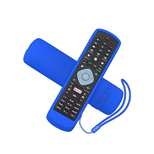 MOSHOU Ajustado Adapta Mando Funda de Silicona Compatible con Philips TV Remoto,...