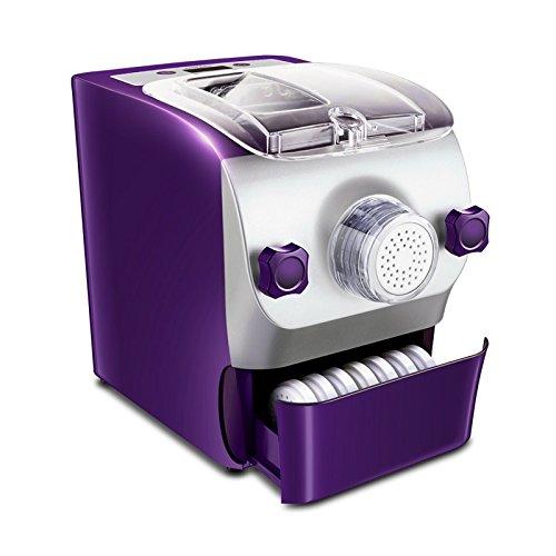Aicooker Multi-functional Automatic Noodle Maker M3 Includes 7 Noodle Molds And 1 Dumpling Mold,120V, Purple