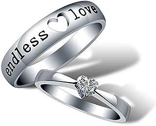 عدد 2 خاتم الحب الحقيقي لمناسبات ذكرى الزواج او الخطوبة