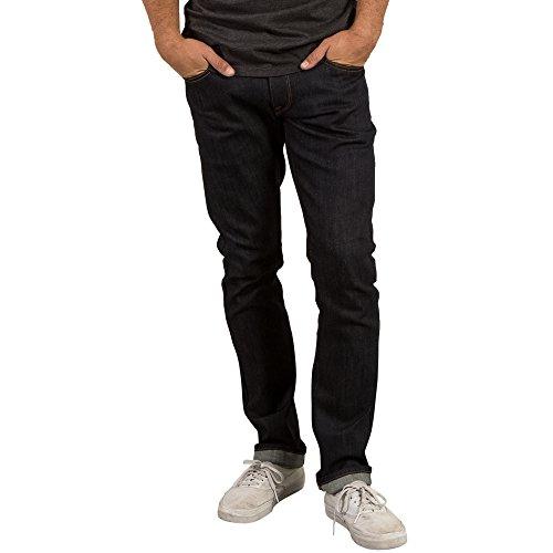 Volcom Vorta Jeans, Herren, Herren, A1931501_36, Blau (Gene Selvedge), 36