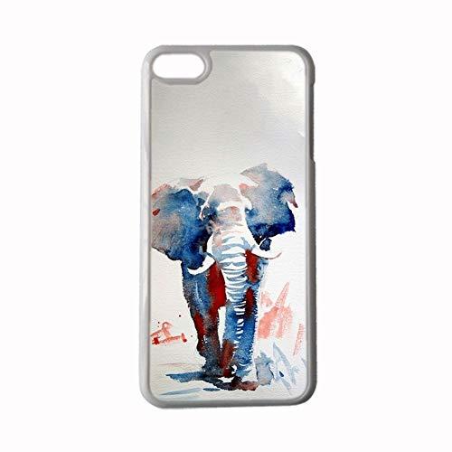 Gogh Yeah Compatible con iPhone 6Plus 6Splus 5.5Inch con Watercolor 1 Individualidad Niña Cajas De Abs Choose Design 112-4