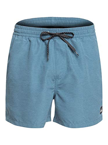 Quiksilver Everyday 15' Swim SRT Pantalones Cortos De Natación, Hombre, Azul (Real Teal Heather), M