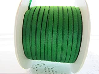 100 yards Solid Satin Ribbon 1/8
