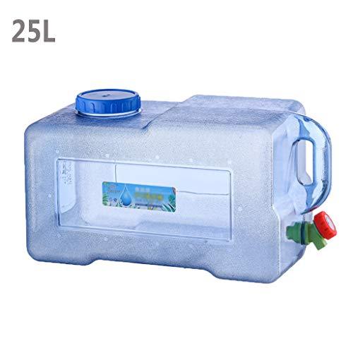 25L Portátil De Almacenamiento De Agua del Envase, Portátil De Bebida Al Aire Libre Cubo Puro con La Tapa Concamping Envase del Agua para Caravanas Que Acampan Yendo De La Caldera