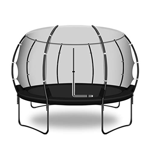 Tuintrampoline, trampoline, springbed, trampoline, outdoor-trampoline, voor thuiskinderen buitenshuis, grote volwassene buiten, met netspringbed, dragend, 400 kg, pretpark-trampoline