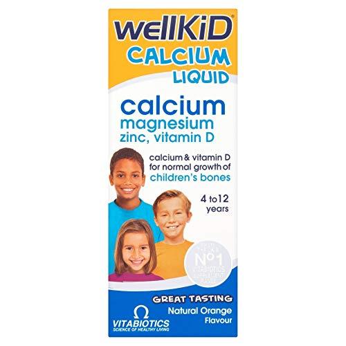 Vitabiotics | Wellkid Calcium Liquid | 2 x 150ml