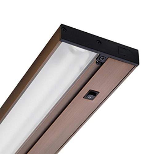Juno Lighting Group UPX109-BZ Pro-Series Xenon Under Cabinet Fixture, 250 Watt, 9-Inch, Brushed Bronze