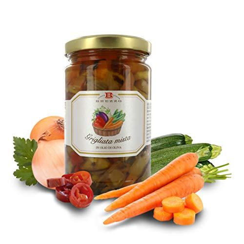 Brezzo Parrillada de Verduras en Aceite de Oliva | 280 Gramos