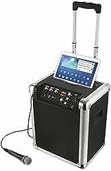 Trust Urban Fiësta Pro Kabelloser Bluetooth Lautsprecher (All-in one Audiosystem) schwarz