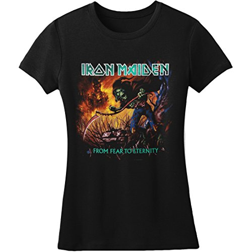 Rock Off dames T-shirt Iron Maiden From Fear to Eternity Album