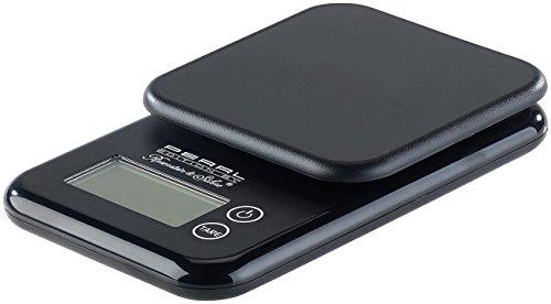 PEARL Feinwaage: Kompakte Digitalwaage mit Touchbedienung für Küche und Büro, bis 3 kg (Küchenwaage)
