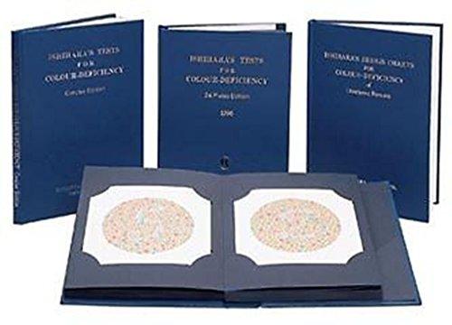 Labgo Ishihara-Testbuch für Farbenblindheit, 24Tafeln und 38Tafeln