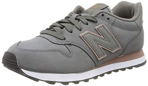 New Balance Damen 500 Sneaker, Grau (Grey Grey), 37.5 EU