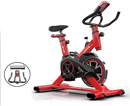 Rode Ultrastille Professionele Indoor Fiets Verticale Hometrainer Aerobic Fitness Cardio Fiets Voor Thuis Aërobe Oefening dsfhsfd(Upgrade)