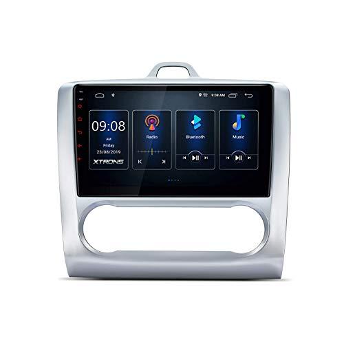 DSP Android 10 Car Radio estéreo para automóvil con pantalla IPS de 9 'BT5.0 Navegación GPS Admite CarAutoPlay Salida RCA completa 1080P DVR DAB + TPMS Cámara de respaldo para Ford Focus (2007-2011)