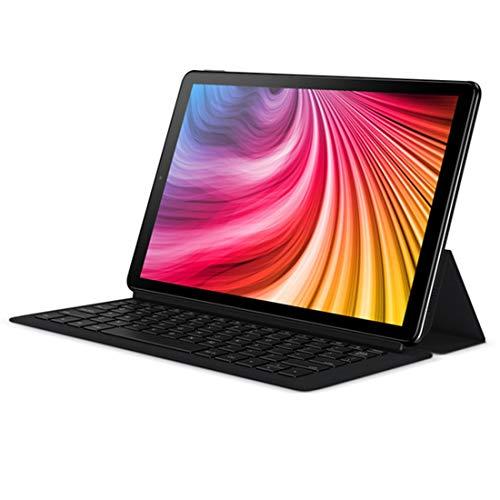 Accesorios Tablet CHUWI Hi9 Plus Funda de Cuero Plegable con Tirador Horizontal 2 en 1 con Teclado de succión magnético (Color : Black)