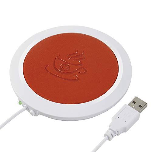 OURLITIME Thermountersetzer aus Polyurethan, hitzebeständig, elektrisch, mit USB-Anschluss Orange