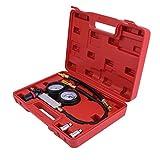 None Brand Universal Auto Car Cylinder Probador de Fugas Compresión Detector de Fugas Kit Set Rojo