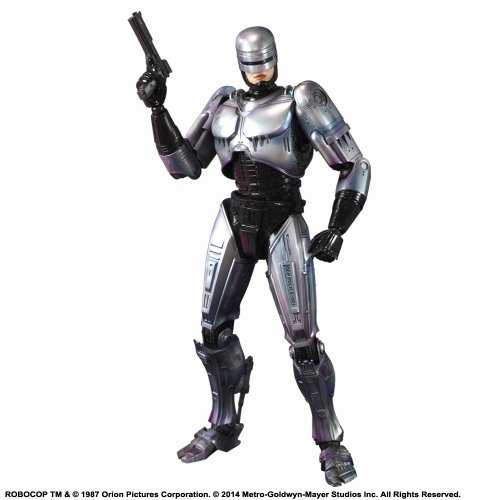 Square Enix Figur Play Arts Kaï – Robocop – Original von 1987