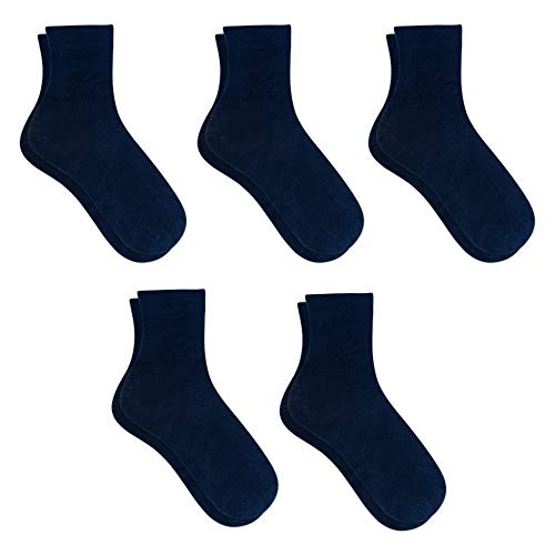 Snocks Damensocken Socken Damen Blau Größe 39-42 Gr. 39 40 41 42 Blaue Baumwollsocken Socks Baumwolle Business Frauen Strümpfe Casual Damenstrümpfe Dünne Anzugsocken Größe Anzüge Anzug Soken