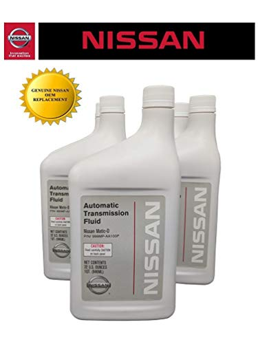 Genuine Nissan OEM Matic-D Transmission Fluid 999MP-AA100P (5 Quarts)
