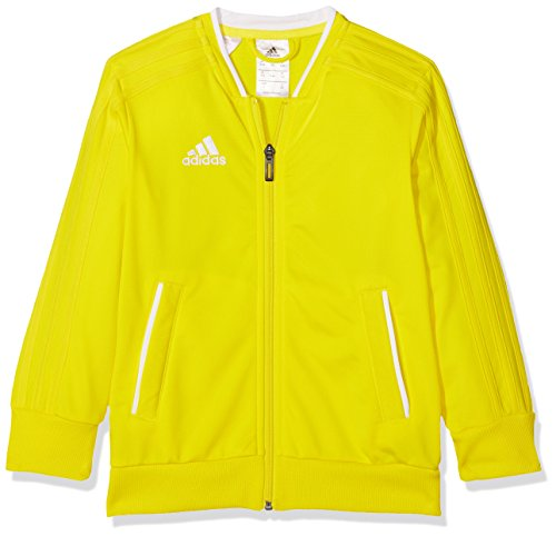 adidas Kinder Trainingsjacke Condivo 18, Yellow/White, 116, CF4335