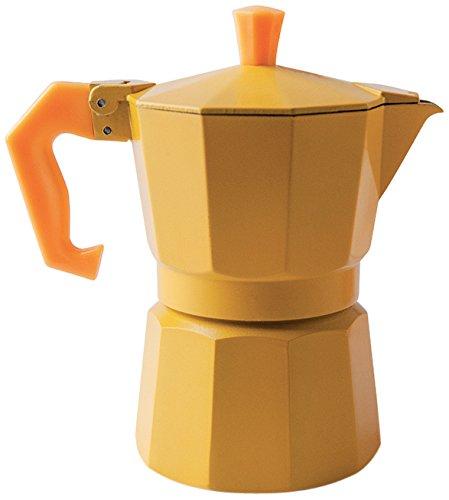 Excelsa 'Chicco Color Amarillo cafetera de 3 Tazas