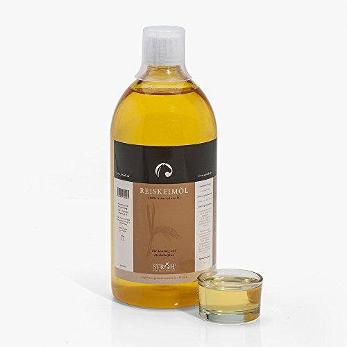 STRÖH Reiskeimöl 1L Flasche 100% Reiskeimöl ohne Zusätze!