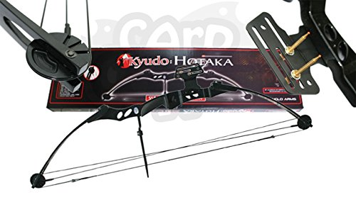 Anglo Arms Adults 55lb Black 'Hotaka' Compound Archery Bow For Hunting...