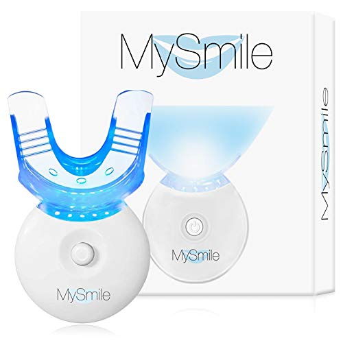 MySmile Teeth Whitening Light, LED Accelerator Light Integrated with Smart Timer and Long Lasting Batteries, 5 LED