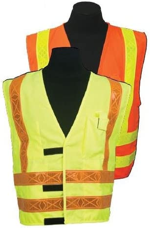 ARC Ranking TOP8 Series 3R Class 2 Safety Size: Great interest 3X-large Orange Vest Color: