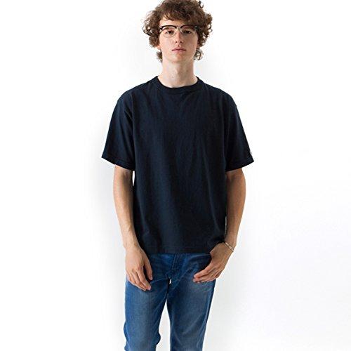 [チャンピオン] T1011 半袖Tシャツ ワンポイントロゴ C5-P301 ネイビー 日本 L (日本サイズL相当)