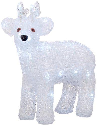 Lumineo LED Acryl Rentier, aussen Beleuchtung 492083